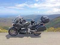 Motorcycling in Corsica