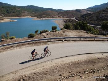 North Sardinia circle tour road bike