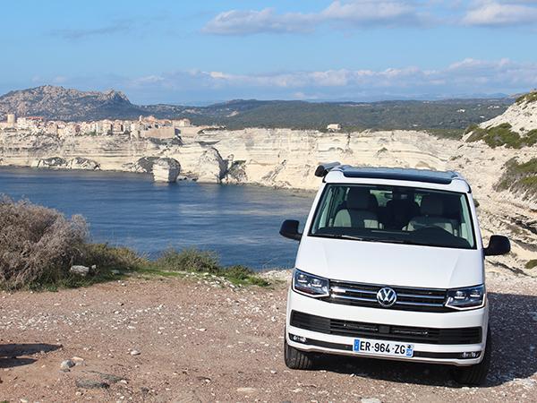 3cb8b5729d Touring Corsica in a Volkswagen California Coast